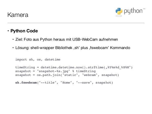Einfache Heimautomatisierung auf dem Raspberry Pi mit Python