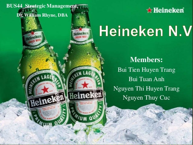 strategic analysis heineken Transcript of the heineken global strategy heineken the global strategy a company with a successful transnational strategy heineken's key global markets emerging markets are currently the principal source of volume growth: heineken has increased the volume of beer sold in emerging markets from 2007 to 2012.