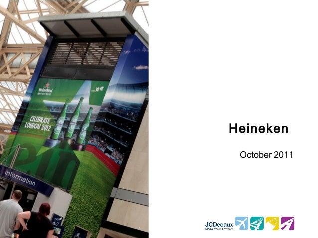 Heineken October 2011