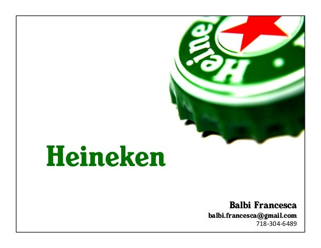 Heineken's Adaptive Marketing Strategies