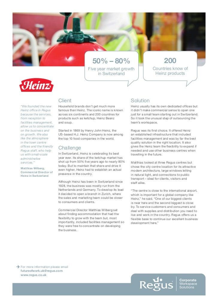 H.J. Heinz Co.: Plastic Bottle Ketchup (B) Case Solution & Analysis