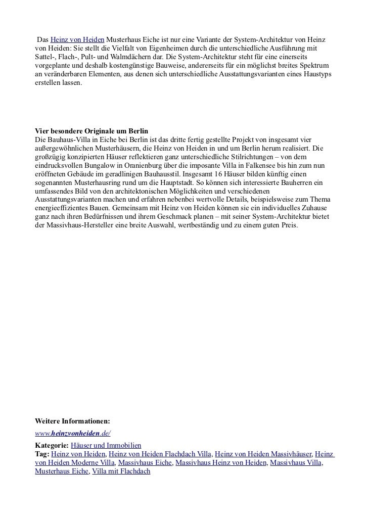 heinz von heiden weiht bauhaus villa am 15 und 16 september 2012 ein. Black Bedroom Furniture Sets. Home Design Ideas