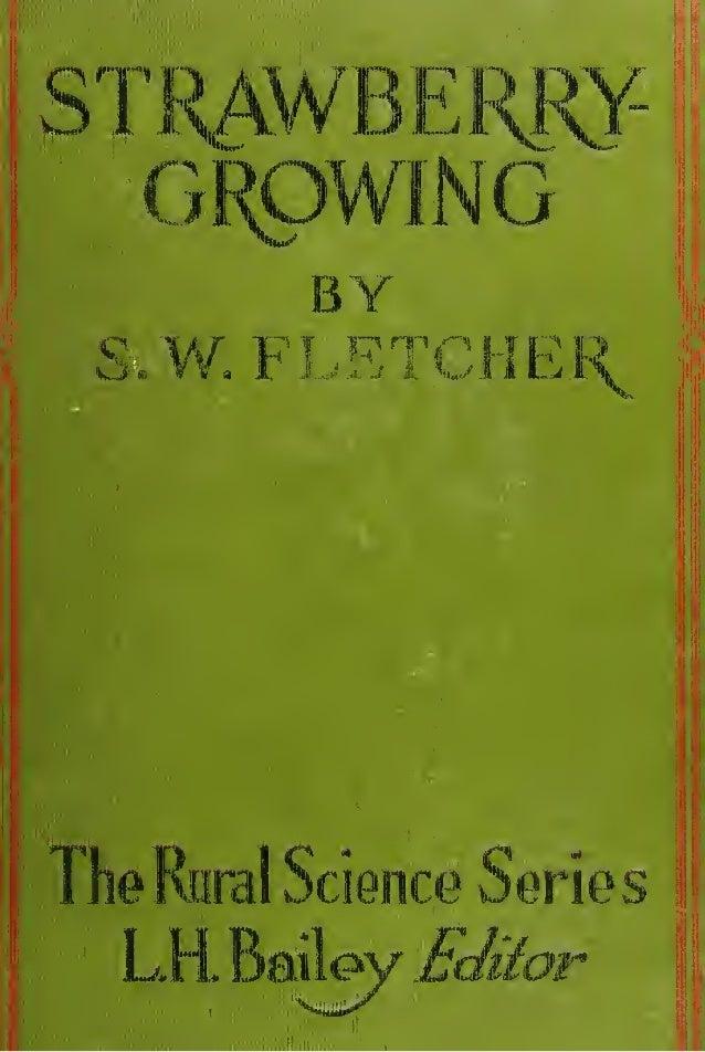 BY S.W.FLETCHEThe Rural Science Series  LR Bai   W