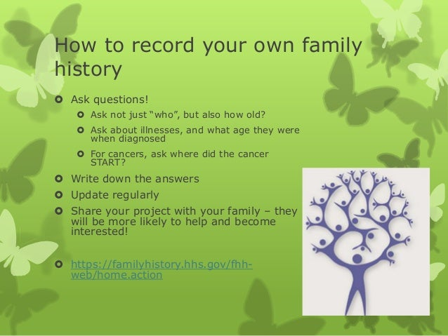 familyhistory hhs gov fhh web home action Integrating genetics and genomics into oncology nursing  dale halsey lea,  available at:   accessed on july 14,.