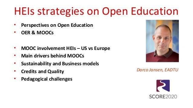 HEIs strategies on open education Slide 2