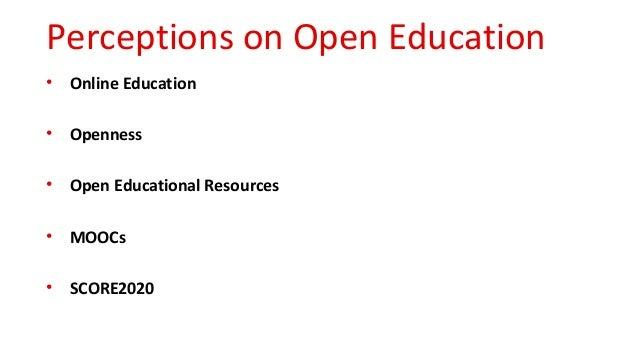 HEIs strategies on open education Slide 3