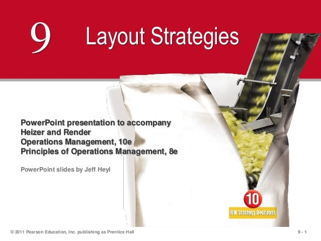 9 - 1© 2011 Pearson Education, Inc. publishing as Prentice Hall9 Layout StrategiesPowerPoint presentation to accompanyHeiz...