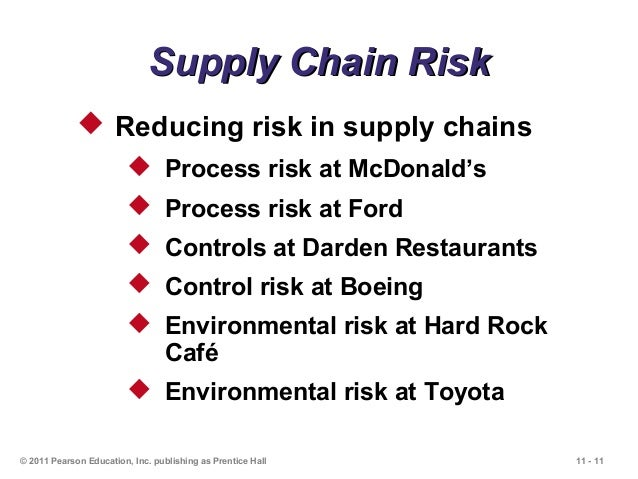 mcdonalds supply chain