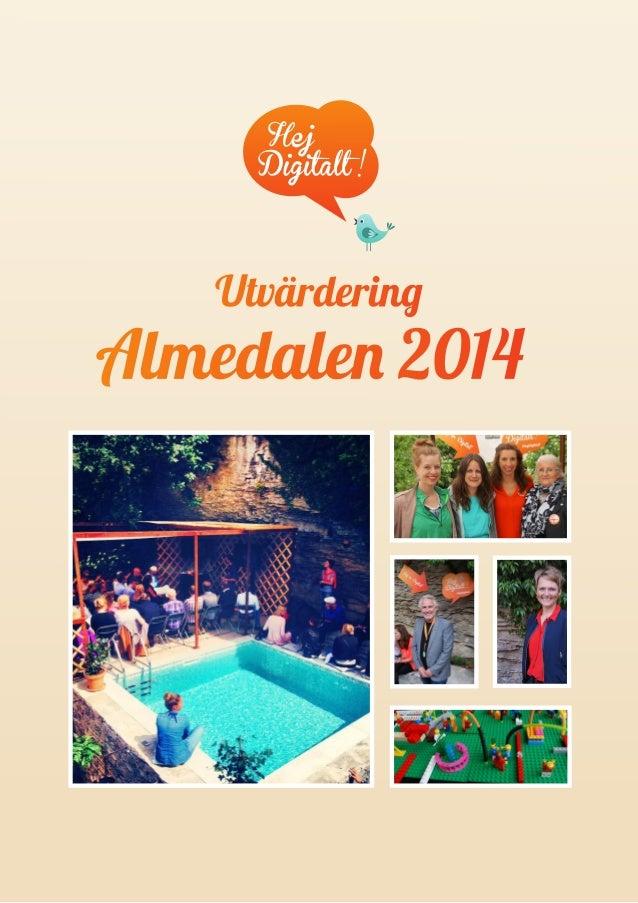 1  Almedalen 2014  Utvärdering