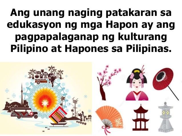 """edukasyon sa panahon ng hapon Nahahati sa panahon ng (1) sinabi niyang """"kailangang ipagkaloob ang edukasyon sa wika ng mga korte sa buong kapuluan 5 panahon ng hapon."""