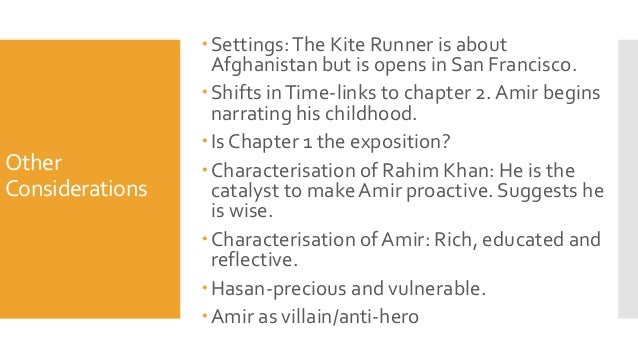 foreshadowing and flashbacks in the kite runner The kite runner chapters 6-10 answer the questions in complete sentences on notebook paper you do not have to write the questions chapter 6 1 what are some imagery details that set the mood for the beginning of chapter 6.