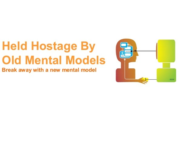 Held Hostage ByOld Mental ModelsBreak away with a new mental model