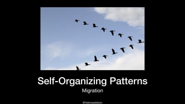 @helenaedelson Self-Organizing Patterns Migration