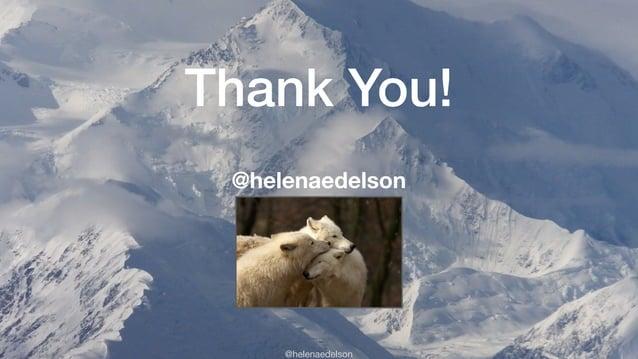 @helenaedelson Thank You! @helenaedelson