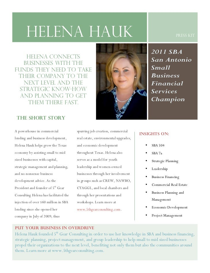 21            Helena Hauk                                                                                  Press Kit      ...
