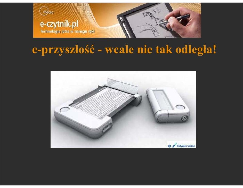 e-przyszłość - wcale nie tak odległa!