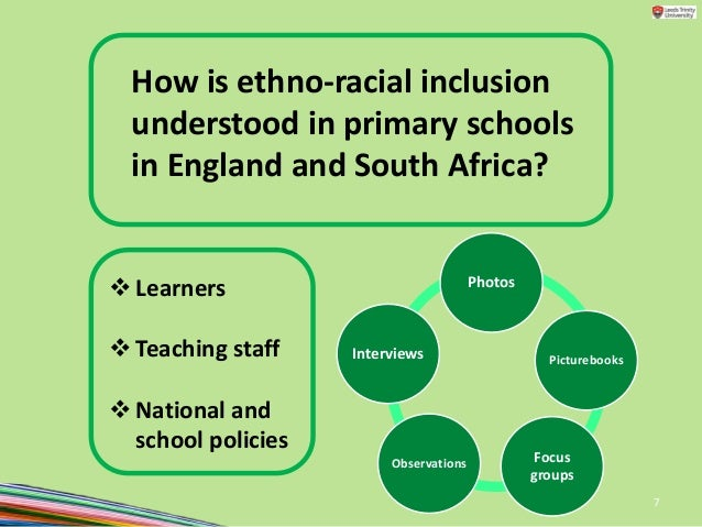 what is inclusion in primary schools