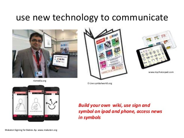 Promoting Independent Communication Using Sign And Symbol