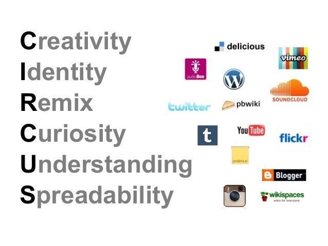 CreativityIdentityRemixCuriosityUnderstandingSpreadability