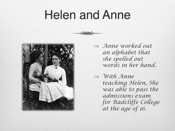 the life of helen keller essay Find out more about the history of helen keller, including videos, interesting  articles,  one on contemporary social problems, and a biography of anne  sullivan.
