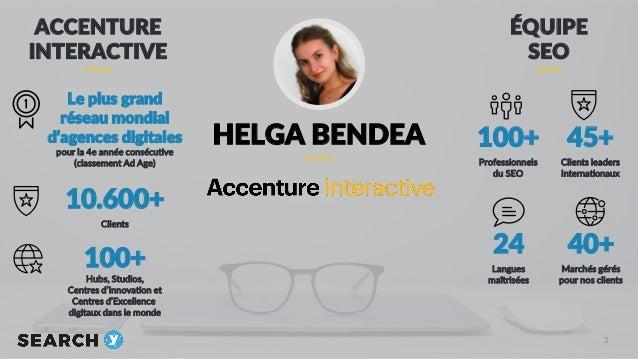 Refonte SEO à échelle globale - Best practices pour gérer les migrations - Helga Bendea Slide 2