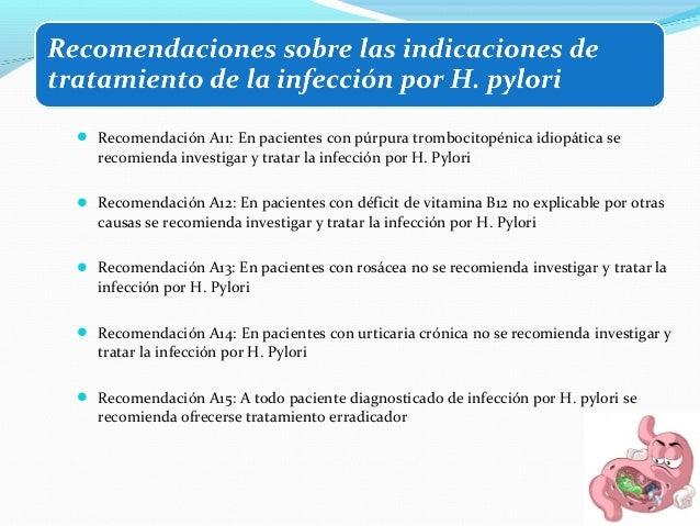  Úlcera péptica   Dispepsia no investigada < 55 años y sin síntomas/signos de alarma (estrategia test and  treat)   Dis...