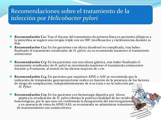 H. Pylori y LINFOMA MALT:  Conclusión: la erradicación es el tratamiento de  primera elección para pacientes con HP y lin...