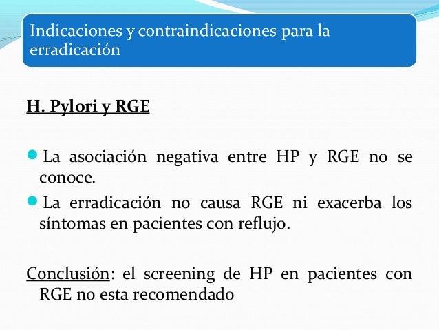 H. Pylori y enfermedad extraintestinal  1. Anemia ferropénica (pérdida de sangre oculta,  disminución de la absorción y us...