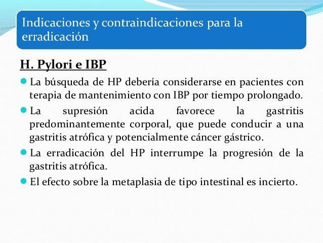 Métodos invasivos Endoscopia digestiva alta  Biopsia gástrica  Prueba de la ureasa  Cultivo  Histología