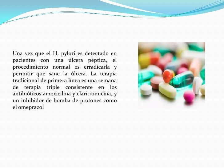 TRATAMIENTO<br />Inicialmente se utilizaba metronidazol, el cual, actualmente, presenta resistencia en más del 80% de los ...
