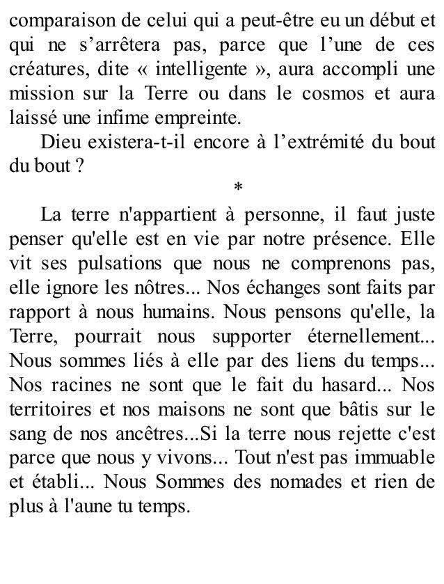 Helicoide extrait 75 pages   Pierre st Vincent Slide 3
