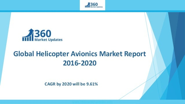 www.360marketupdates.com Global Helicopter Avionics Market Report 2016-2020 CAGR by 2020 will be 9.61%