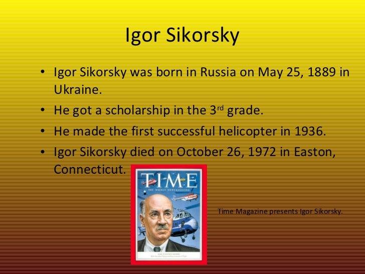 igor sikorsky biography