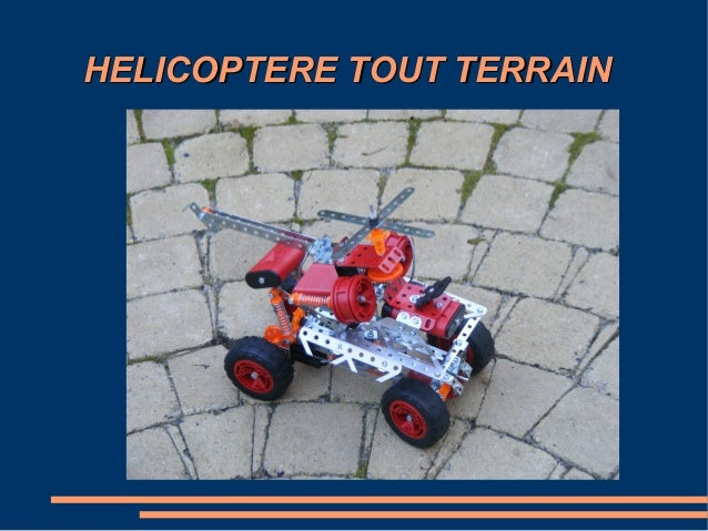 HELICOPTERE TOUT TERRAIN