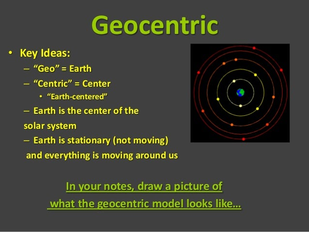 Heliocentric Vs Geocentric Models