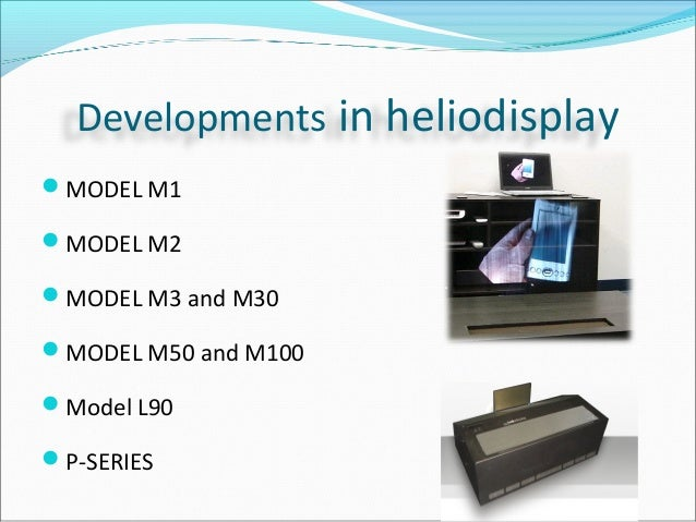 heliodisplay technology Specialty chemicals company that utilizes manufacturing technology and  scientific innovation to deliver products that enhance the performance and value  of our.