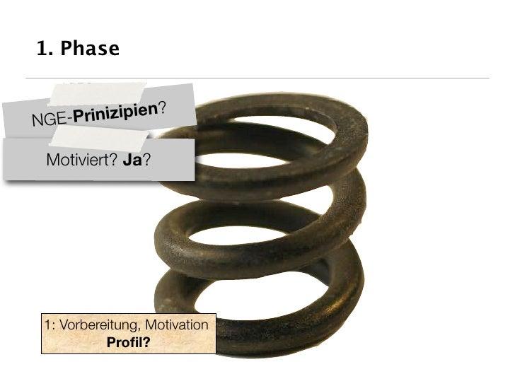 1. Phase                 ? NGE-Prinizipien   Motiviert? Ja?      1: Vorbereitung, Motivation            Profil?