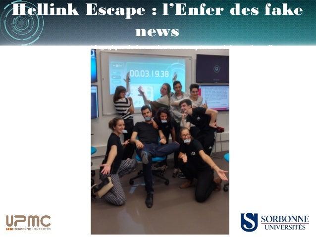 Hellink Escape : l'Enfer des fake news un escape game pédagogique de formation aux compétences informationnelles