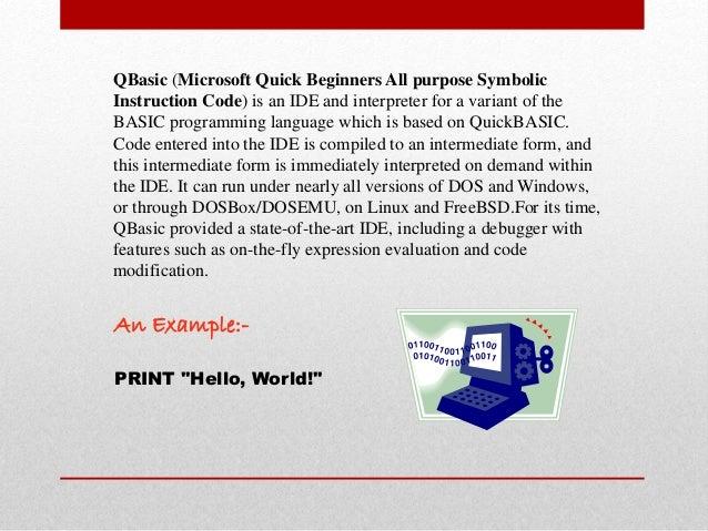 Beginner%27s All Purpose Symbolic Instruction Code Tutorial