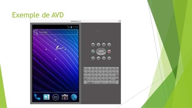 Exemple de AVD