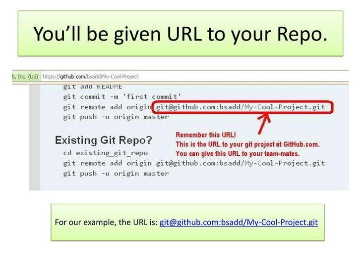 Verify in GitHub's Website