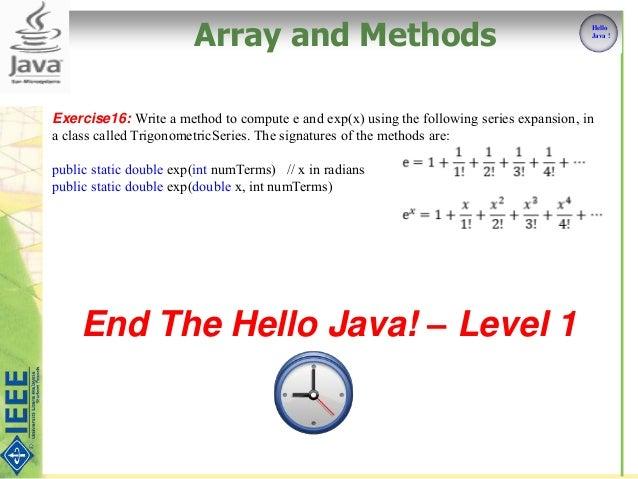 Java Practice problems - CodingBat Java