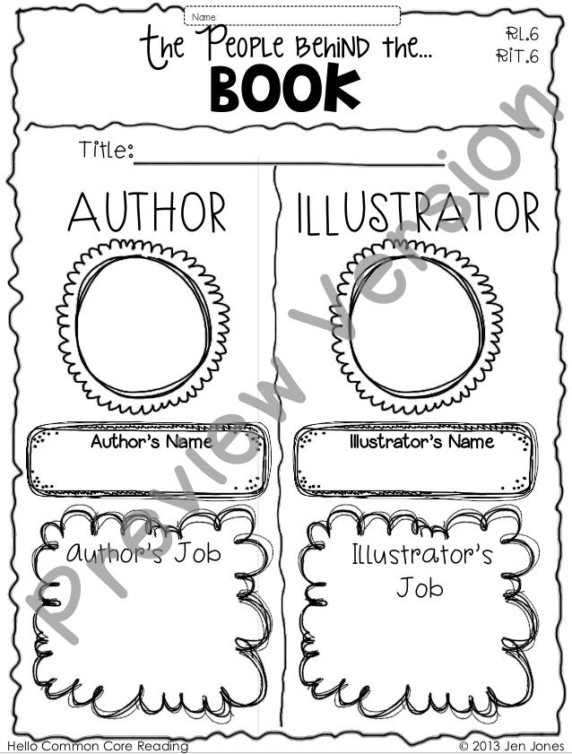 Author's Name Hello Common Core Reading © 2013 Jen Jones Author's Job AUTHOR Illustrator's Name IllUSTRATOR Book RL.6 RIT....