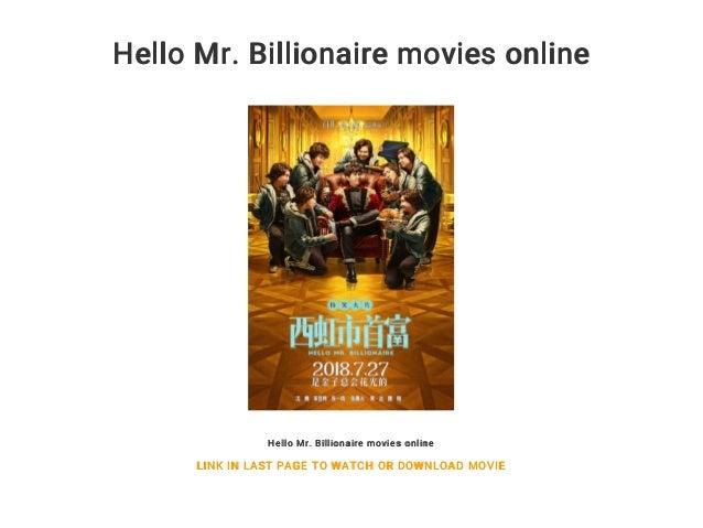 Hello Mr Billionaire Movies Online