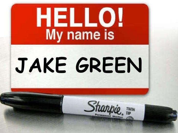 JAKE GREEN
