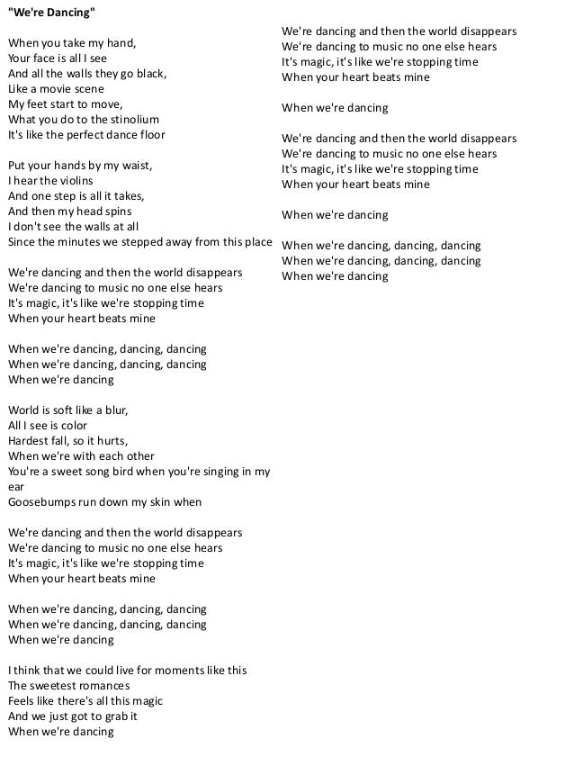 I just cant let go lyrics