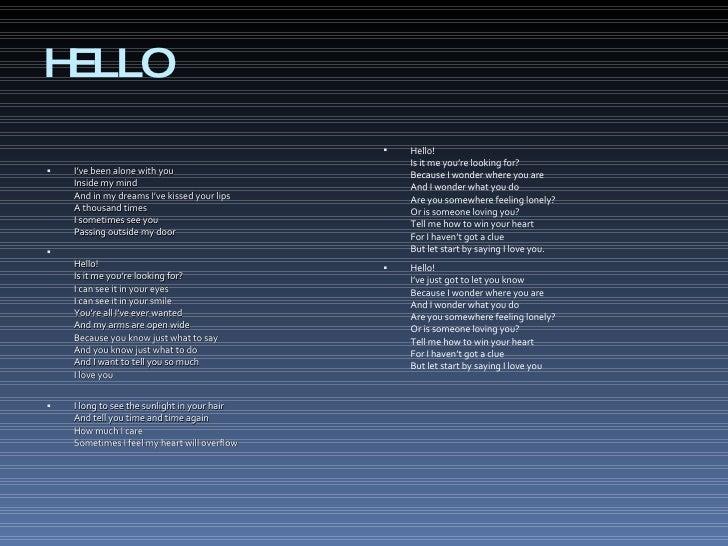 Hellosong