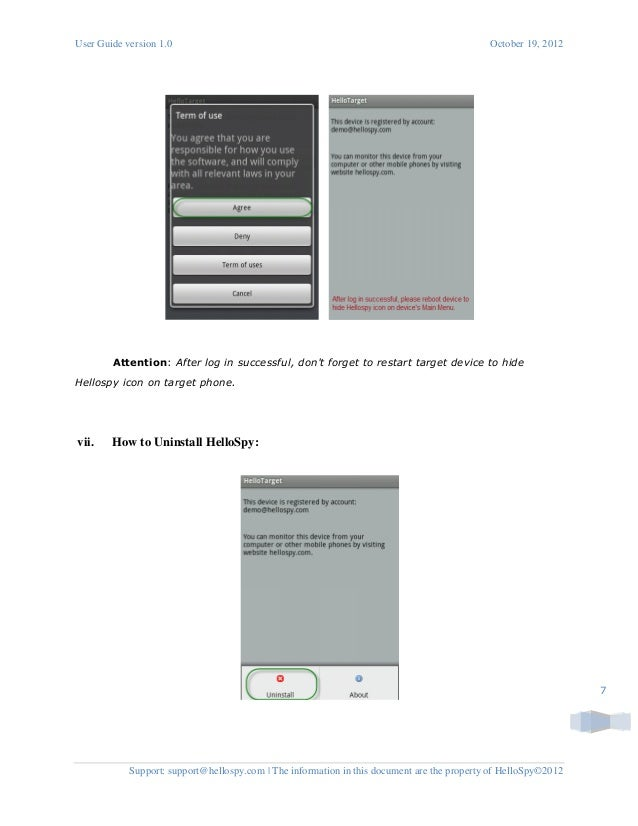 Best Cell Phone Spyware - HelloSpy installation on Android ...