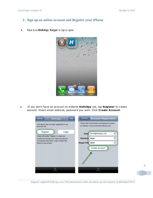 Best Mobile Spy Software - HelloSpy Installation GUI