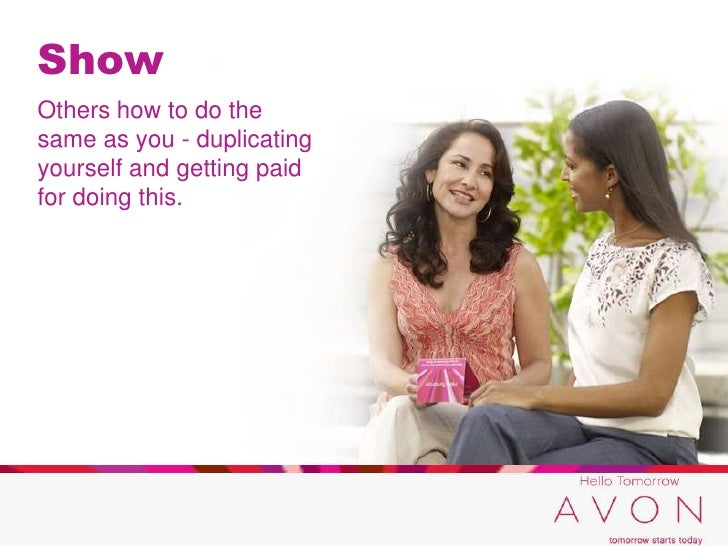 Avon hello tomorrow campaign